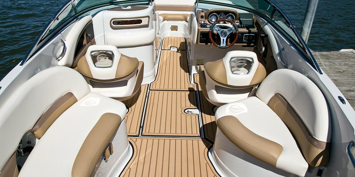 Boat inside